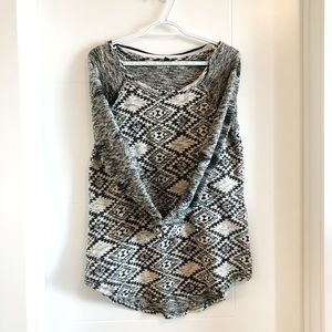 Cable & Gauge knit sweater